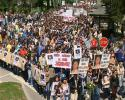 Protest u Sanskom Mostu 16.04.2007
