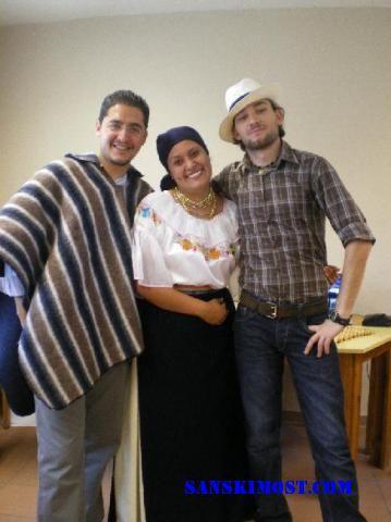 ja moj brat iz Turske i moja cura iz equadora